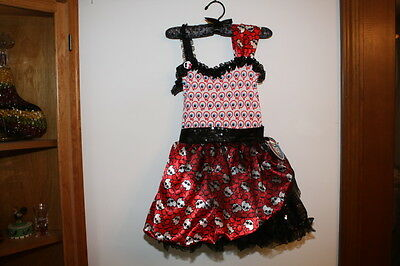 Monster High Ghoulia Yelps Dot Dead Gorgeous Dress Up Pretend Play Costume Nwt