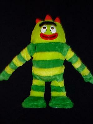 "Yo Gabba Gabba 14"" Talking and Dancing Brobee WORKS GREAT! Waves his arms too!"