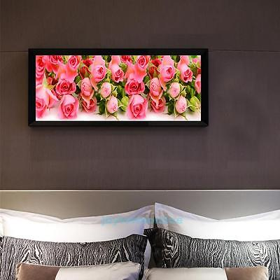 DIY 5D Diamond Painting Flower Tulips Embroidery Cross Crafts Stitch Home Decor