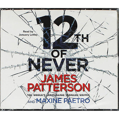 12th Of Never - Audio Book by James Patterson (CD), Audio Books, Brand New