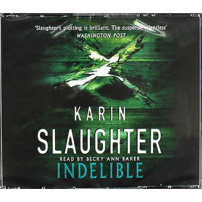 Indelible - Audio Book by Karin Slaughter (CD), Audio Books, Brand New