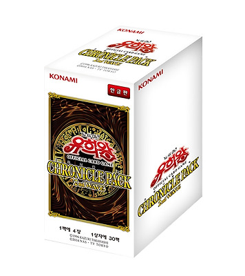 "Yugioh Cards  ""Chronicle Pack 2nd Wave"" Booster Box (30 Pack) / Korean Ver"