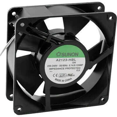 Ozstock Sunon Ac12038240L 240V Ac 120Mm Fan Ball Bearing/ With Lead