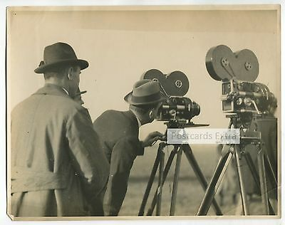 Movie director? - and film cameras - c1920's / 30's photograph