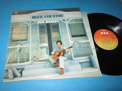 Joe Dassin / Blue Country (France 1979, CBS 84029) - LP
