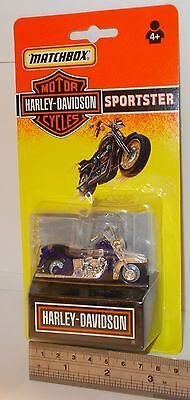 Matchbox Motor Cycles - Harley-Davidson, Sportster - Sealed Pack - (Vintage)