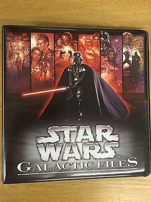 Star Wars Galactic Files Series 1 Official Topps Binder