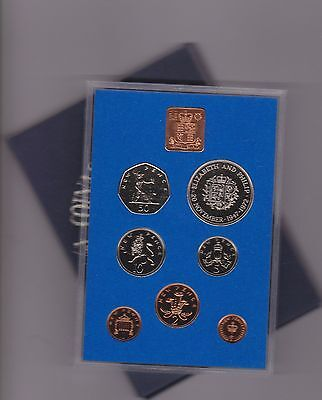 1972 Standard Proof Set Of 7 Coins In Good Condition