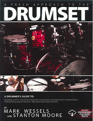 FRESH APPROACH TO DRUMSET Wessels Book & CD