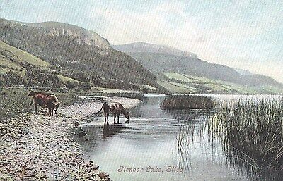 o irish postcard ireland sligo glencar lake