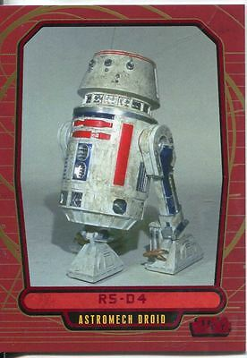 Star Wars Galactic Files Red Parallel #116 R5-D4
