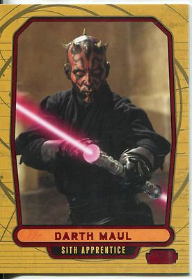 Star Wars Galactic Files Red Parallel #6 Darth Maul