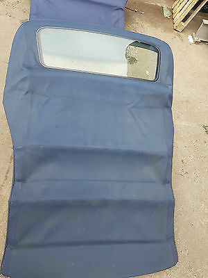 Bmw 3 Series E46 Blue Convertible Soft Top Roof