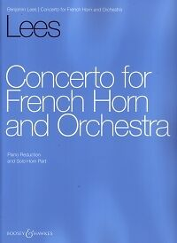 LEES CONCERTO for French Horn & Orchestra reductio
