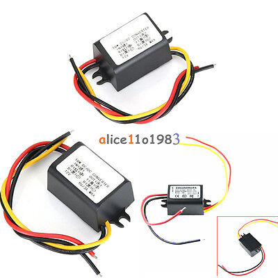 DC-DC 12V to 5V/6V/9V 2/3A 15W Converter Step Down 2A/3A 15W Power Supply Module