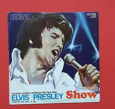 Elvis Presley- Unique Art On This Italian Thats The Way It Is