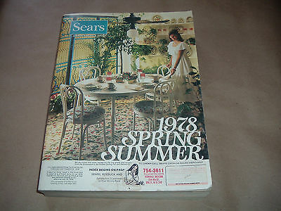 1978 Spring Summer SEARS Catalog 1427 pages Vintage 70's Fashions Swimwear5