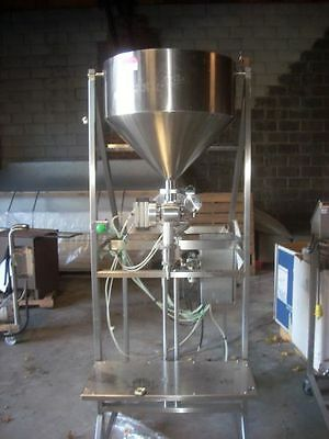 Filling Systems limited Pneumatec Large Stainless Steel Piston Filler
