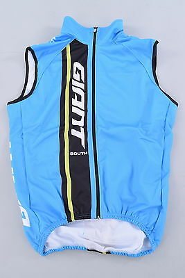 NEW Giant Bicycle Team Pro Issue Thermal Cycling Vest Men's Large