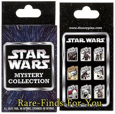 "Disney Parks Star Wars ""Original Movie"" Characters 2-Pin Mystery Box Set (NEW)"