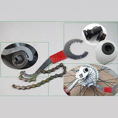 3 in 1 Cycling Repairing Tool Bike MTB Bicycle Chain Disassembly Wrench K9Q0