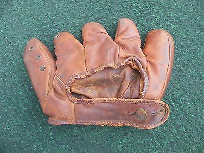 Antique Enos Slaughter Trademark Wilson 655 Baseball Glove