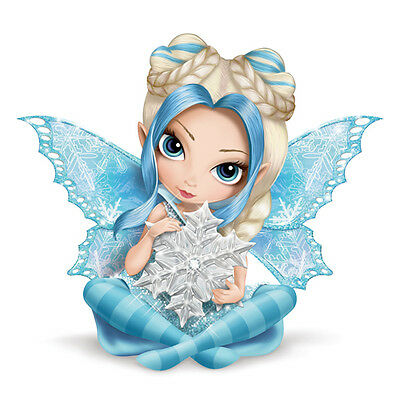 Touched By Magic Fairy Figurine Ice and Snow - Jasmine Becket Griffith
