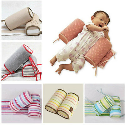 Anti Roll Baby Sleep Prevent Flat Head Pillow Positioner Newborn Support Cushion