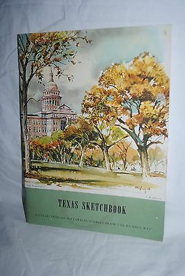 Texas Sketchbook, The Humble Way, Humble Oil, 1960s revised edit., E.M. Schiwetz