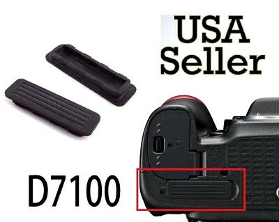 NEW Power Cover Rubber Bottom Cover Cap Repair Part For Nikon D7100 Camera