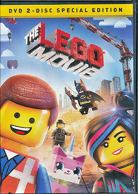 2014 The Lego Movie Dvd 2-Disc Special Edition