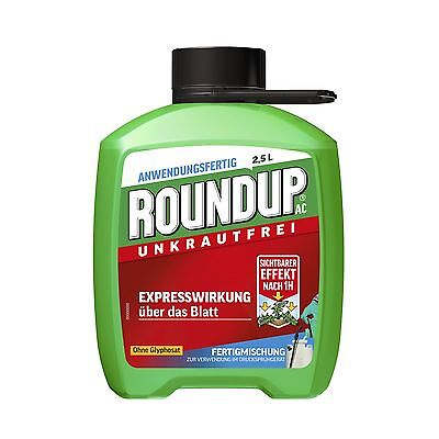 Roundup AC - 2,5 Litre - Weed control Weed Weeds Glyphosate-free