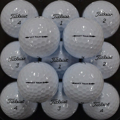Mint Condition Titleist Nxt Tour S Dozen - Multiple Dozens Available