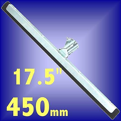 Silverline 450mm 17.5 Floor Squeegee rubber metal wiper