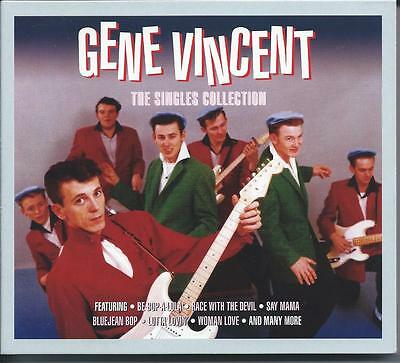 Gene Vincent - The Singles Collection [Greatest Hits / Best Of] 3CD NEW/SEALED