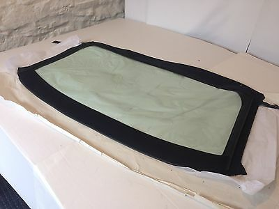 Mgf Rear Window Section Only Black Stayfast Rrp £135