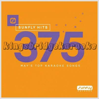Sunfly Karaoke Hits 375 CDG 18 Chart Tracks May 2017 SF375 CD+G Disc Pop Hits