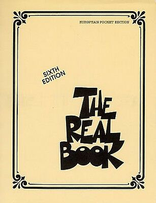 REAL BOOK (6th edition) C Inst Pocket Edition
