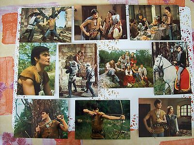 LOT CARTES POSTALES THIERRY LA FRONDE French Postcard TV