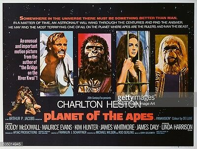 Planet of the Apes 1968 35mm Film Cell strip very Rare var_pp