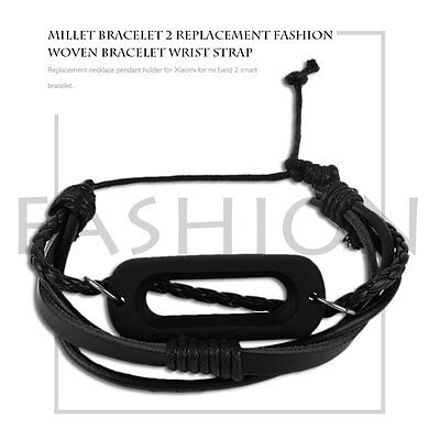 Braided Wristband Strap Bracelet Replacement Watchband For Xiaomi For MiBand 2 H