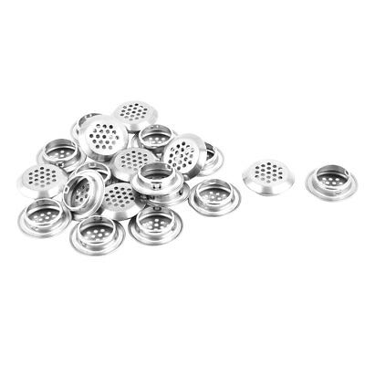 Household Bathroom Stainless Steel Round Mesh Hole Sink Residue Strainer 20pcs