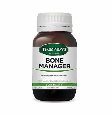 THOMPSONS Bone Manager 60 Tablets ( Supports Bone Health )