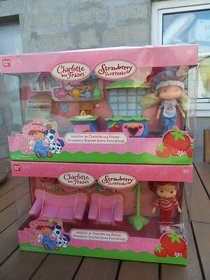 poupée Charlotte aux fraises shortcake doll strawberry scented homme furnishings