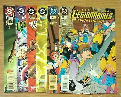 Legionnaires #28-33 Moy McCraw DC Comic Book Lot VF+-NM 1f bc