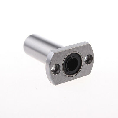 2PCS LMH8LUU 8mm H Flange Linear Motion Bearing Ball Bushing CNC