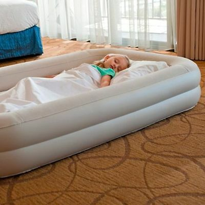 Intex Inflatable Travel Bed Air Mattress For Kids Blow Up Camping Holiday  NEW