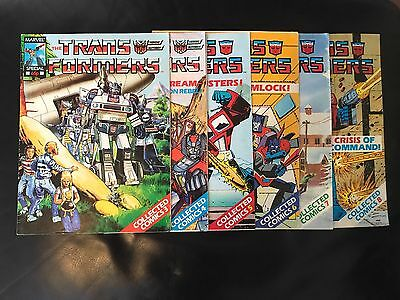 Marvel Uk Transformers Collected Comics Special 3, 4, 5, 6, 7 & 8