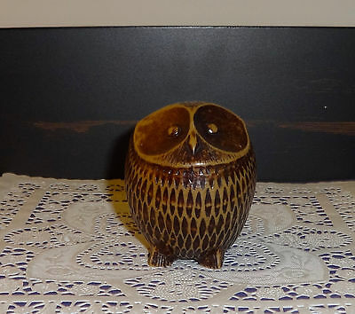 Vintage Boma Owl - Resin - Vancouver Bc