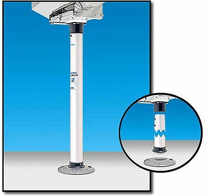 """Boat Marine BBQ  28"""" (71 cm) Double Locking Stow-able Pedestal Mount Magma"""